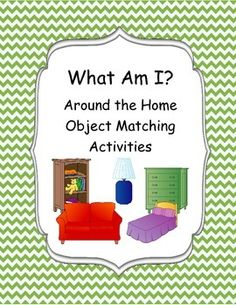 This product includes 22 object visuals to be used for object to description matching activity and color object to black line image matching. This task works well in the special needs classroom as well as speech therapy.