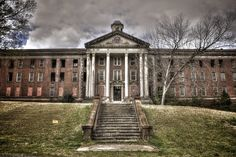 Central State Hospital, formerly known as the Georgia Lunatic Asylam, sits abandoned in Milledgeville, Georgia.
