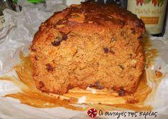 Κέικ με ταχίνι χωρίς ζάχαρη
