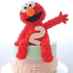 Elmo cake #sesamestreet #elmo #party