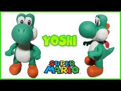 Yoshi Clay Tutorial   Porcelana Fría ★ Plastilina - YouTube