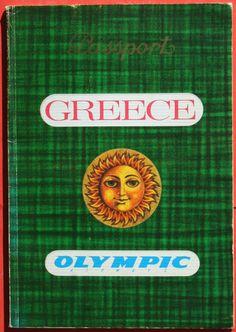 Olympic Airways 'Passport Greece' tourist information booklet Olympic Airlines, Tourist Information, Athens, Booklet, Passport, Airplane, Olympics, 1970s, Greece