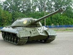 ИС-3  Soviet heavy tank post WW II