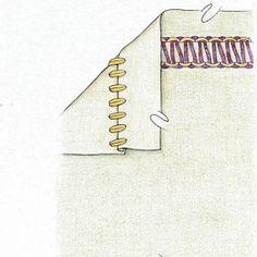 Which serger stitches when