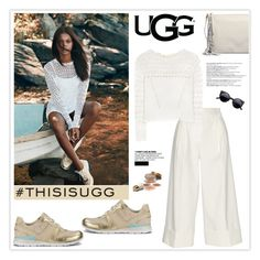 """Play With Prints In UGG: Contest Entry"" by marion-fashionista-diva-miller ❤ liked on Polyvore featuring UGG Australia, TIBI, Oscar de la Renta, Balmain and thisisugg"