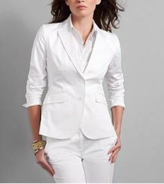 You are the Boss! Professional Attire, Office Wear, Modest Outfits, Vogue, Blazer, Elegant, My Style, Coat, How To Wear