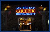best Greek food in Colorado Springs..plus watch the staff dance around break plates and breath fire!
