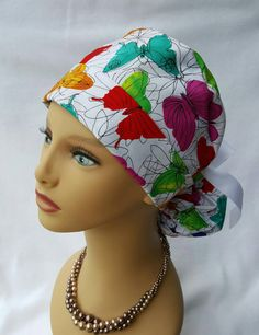 Check out this item in my Etsy shop https://www.etsy.com/listing/272142006/scrub-hat-scrub-hat-with-ponytail-and
