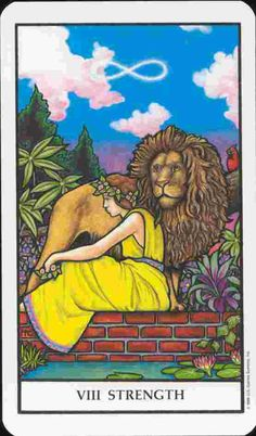 Strength (card 8) Tarot Card Meaning - ReadTarot.com - Learn to read Tarot cards and more!