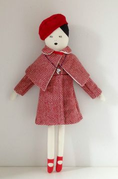 Suzy Bishop doll coat, mikodesign, moonrisekingdom