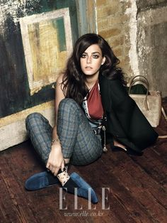 Kaya Scodelario by Lee Do Guy for Elle Korea August 2012