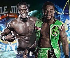 Kofi Kingston And R-Truth Tag Team