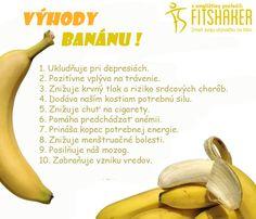 Prečo by si mala jesť banán každý deň? :-)