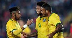 Neymar y la selección de Brasil será la primera prueba en la Copa América. Noviembre 24, 2014.