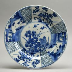 Catawiki online auction house: Kangxi plate - China - 18th century (Kangxi period)