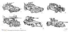 Road Fighters-Vehicle Design by Yi-Jia (Dengyijia Liu) on ArtStation. Post Apocalypse, Zbrush, Moose Art, Vehicles, Artist, Artwork, Animals, Sketch, Design
