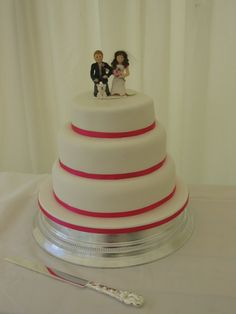 Personalised bride and groom figures.  Truly Scrumptious  The Wedding & Events Company www.truly-scrumptious-events.co.uk