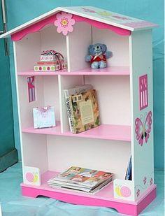 little girl book shelf - Google Search