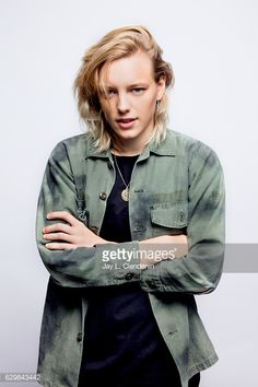 News Photo : Actress Erika Linder, from the film Below Her...