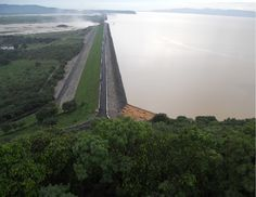 Built across the Mahanadi River in Orissa, India, the 26km long Hirakud Dam is the longest man made dam in the world. The construction of this dam started in 1948 and got completed in 1953.