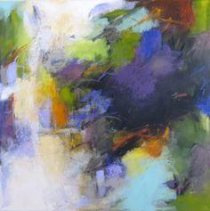 Release, 24x24x1.5 inches, acrylic on canvas by Debora L. Stewart. www.deboralstewart.com