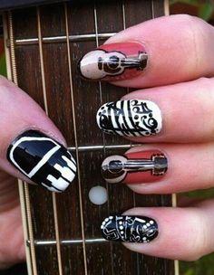 Guitar/Banjo/Piano Nails