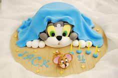 Tom and Jerry Birthday cake by keartona, via Flickr