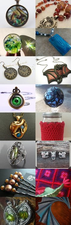 Dragon Aspects by Julia on Etsy--Pinned with TreasuryPin.com