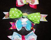 Cupcake Bow Tie Bows