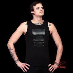 Débardeur Cyber Goth 'Metal Tank Top'