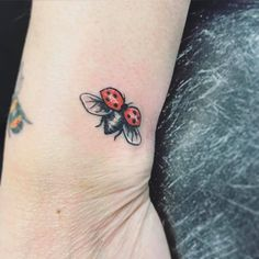 Ladybird Tattoo, small tattoos