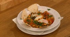 Gino Mexican huevos ranchero eggs pick me up brunch recipe for lunch on Let's Do Christmas