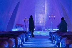 icehotel quebec church