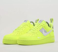 08c34e2359 Nike Air Force 1 '18 LV8 UV SZ 11 Bright Neon Volt White AJ9505-700  #fashion #clothing #shoes #accessories #mensshoes #athleticshoes (ebay link)