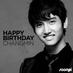 Happy Birthday to #TVXQ's Changmin! #HappyChangminDay - February 18, 1988