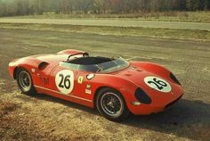 Virginia International Raceway, SCCA, paddock, John Fulp with the Ferrari 250 P