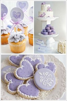 Lavender Baby Love Sprinkle Shower #Baby #Shower at Te quiero rosa ♪♫