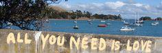 All you need is love <3 waiheke island