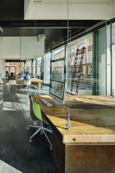 Heldergroen Offices, Haarlem, Netherlands by Zecc Architects
