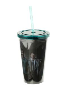 Supernatural Cast Acrylic Travel Cup
