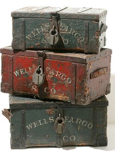 Wells Fargo Collection #Woodenboxes