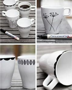 DIY - comment faire un mug personnalisé
