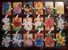 CROMOS DE FLORES Iris Folding, Vintage Games, Paper Beads, Collage Sheet, Quilling, Bowser, Childhood Memories, Embellishments, Decoupage