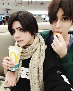THIS IS COSPLAY FROM THE INTERN ISNT IT <<< I don't think it is . . .<<I think it is because look at the scarf omg that fic gave me so many feels