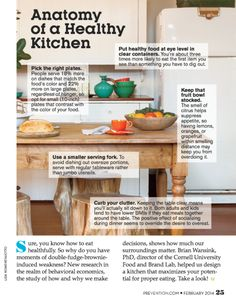 anatomy of a healthy kitchen anatomy eat kitchen