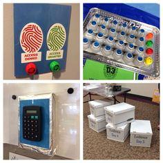 fun factory vbs  bible lab decorating ideas | Vbs decorating ideas. SBC vbs convention ideas.Keys Pads, Vbs Spy, Vbs ...