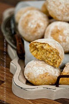 atkami owsianymi i marchewk? Bread Rolls, Baked Potato, Oatmeal, Vegan Recipes, Vegetarian, Homemade, Baking, Breakfast, Ethnic Recipes