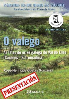 Presentación do libro O valego. 10 maio en@bretemas @Manuel Bragado