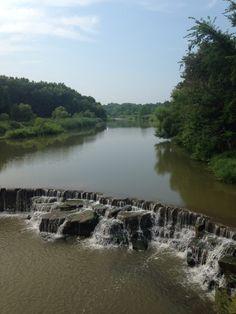 Rocky River, bridge view