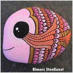#paintedstones#fish#colorful